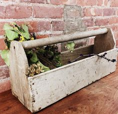32 Best Tool Boxes Diy Planter Centerpiece Wooden Rustic Vintage