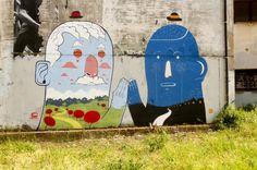 Steet Art by Agostino Iacurci