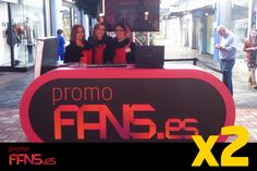¡Nuestras azafatas os están esperando en el stand de PromoFans en la Plaza Central! Traed vuestros tickets de compra con los cupones y os regalaremos el descuento ¡Así de fácil!  Hay miles de euros cada día ¡Os esperamos!