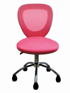 Mesh Office Chair, Home Office Chairs, Valentine Gifts, Modern, Larger, Pink, Things To Sell, Gallery, Image