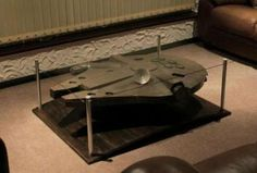 The Millennium Falcon Coffee Table