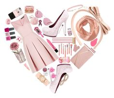 """""""Love ya"""" by fabulousfashions1234 ❤ liked on Polyvore featuring Alexia Crawford, BCBGMAXAZRIA, RED Valentino, Adolfo Courrier, Yves Saint Laurent, Bdellium Tools, Sasha, Michele, Oliver Peoples and Casetify"""