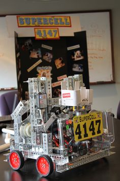 Robot alert at Cii: check our the team we're sponsoring for the World Tournament.