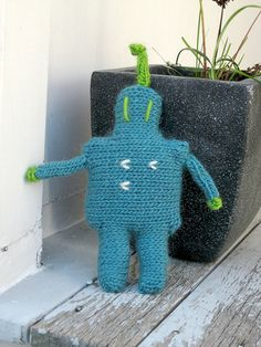 Robots to knit