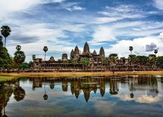 Angkor Archaeological Park contains the magnificent remains of the different capitals of the Khmer Empire, from the 9th to the 15th century. They include the famous Temple of Angkor Wat and, at Angkor Thom, the Bayon Temple with its countless sculptural decorations. #travel #amazing #angkorwat #CovingtonTravel #bucketlist