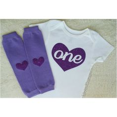 Make your little one's first Birthday pictures perfect with this purple glittery goodness!  #LivAndCo