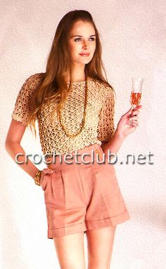blusa champagne