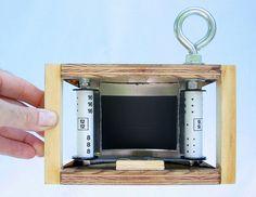 Homemade pinhole camera.
