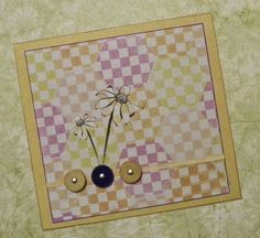 Lisa Liza Lou Designs: Faux-quilting stamp designs by Ann Butler