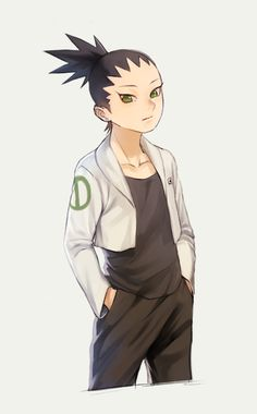 shikadai...... God!!! Ain't he just adorable, like a miniature shikamaru