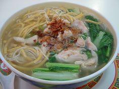 Wantan Soup Noodle(Local Food)