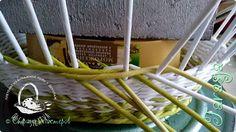 Мастер-класс Плетение Небольшой МК загибки Бумага Бумага газетная Трубочки бумажные фото 5