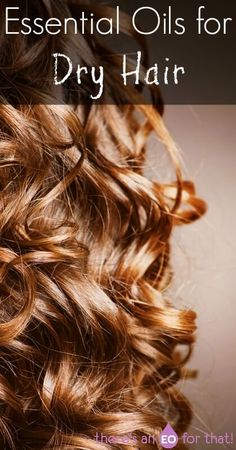 Essential Oils for Dry Hair - Use essential oils with an affinity for dry damaged hair to restore strength, resilience, and vibrancy.