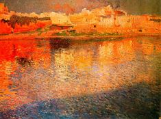 "Joaquim Mir ""Reflexos. Mallorca"", 1901 ""Reflections"" Museu de Montserrat"