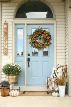 72 best farmhouse front porch decor ideas