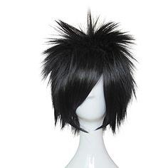 Mtxc Naruto Cosplay Naruto Uchiha Sasuke Wig Black