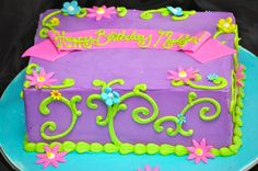 Floral Girl Cake