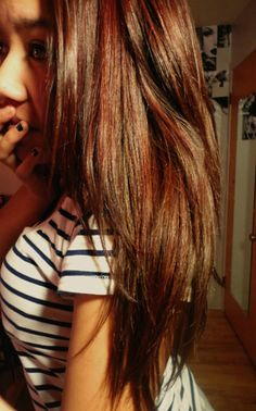 Like the red highlights