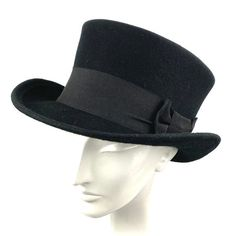 Top Hats For Women, Hats For Men, Top Hat Drawing, Mens Straw Hats, Goth Chic, Victorian Men, Black Top Hat, Hippie Gypsy, Custom Hats
