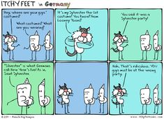 Itchy Feet: A Travel and Language Comic: @Germany