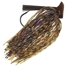 Buckeye Lures Flat Top Finesse Jig - 3/8 oz. - Peanut Butter and Jelly