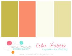 Nena Metcalf Photography Color Palettes 4 Family Session Clothing Color Palettes   Katy Family Photographer