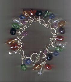 rainbow bracelet_e_0EWe - via @Craftsy