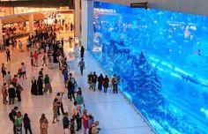 The mall also has Dubai's largest Cineplex – Reel Cinemas – with 22 screens, and the Dubai Aquarium ... - Shutterstock/Outcast85