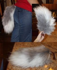 deviantART: More Like Snow Leopard Yarn Tail by =EvlonArts