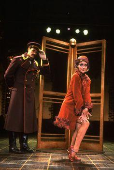 Jane Krakowski in Grand Hotel. Broadway.