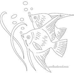 Imagen de http://www.needlenthread.com/wp-content/uploads/2010/08/fish_embroidery_pattern.gif.