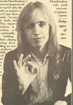 Tom Petty || he is perfect, oh my goodness.