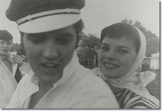 November 1, 1956: Elvis bought a new Harley then later in the day Natalie Wood, clad in jeans, climbed up on the seat behind Elvis and they gunned out from the Audubon Drive driveway and roared around the Memphis streets for three hours accompanied by a motorcycle policeman and Nick Adams, who was riding Elvis' old Harley Davidson - wow, wish that could have been me! Shame both are gone!