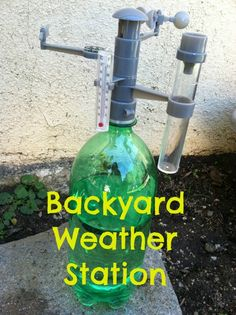 Backyard weather station- love this idea! @Debi Huang shares about this product on her blog.