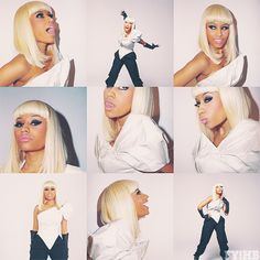 Nicki Minaj- go ahead and call her a crazy psycho bitch. She's fabulous and I love her music. She wouldn't be as famous (or talented) if she was boring- I mean normal.