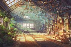 anime-landscape-anime-garden-sunshine-flowers.jpg (2560×1700)