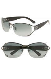 4de01f927fb Gucci 62mm Open Temple Special Fit Rimless Sunglasses Gold Aviator  Sunglasses