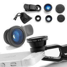Waloo Zuntex Series 3-in-1 Universal Camera Lens for Smartphones