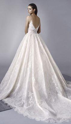Courtesy of Enzoani Wedding Dresses; Wedding dress idea.