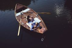 Boat engagement session by Sheena Jibson