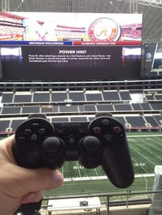 Gaming on a 60 Yard Screen!