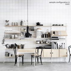 String Shelving System - A+R Store