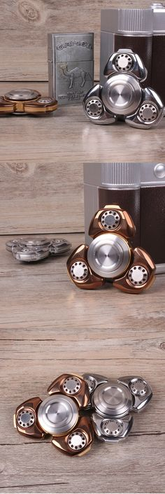 MATEMINCO EDC Ultimate 8 min Rotating Hand Spinner CNC Process Germany Silicon Carbide Hybrid Bearing is personalized, see other cheap Stress Reliever on NewChic. Spinner Toy, Hand Spinner, Jad, Edc Everyday Carry, Fidget Toys, Bad Habits, Cool Items, Fidget Spinners, Cool Stuff