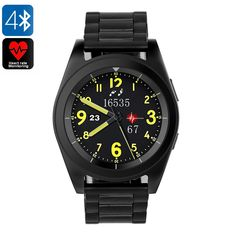 Bluetooth Remote Camera Smart Watch HD Screen Heart Rate Monitor Pedometer Sport Smartwatch for iOS Android Fitness Watches For Women, Watches For Men, Smartwatch, Bluetooth Watch, Gear Best, 5 Elements, Android Watch, Remote Camera, Wearable Device