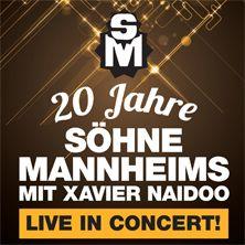 20 Jahre Söhne Mannheims // 10.07.2015 - 11.07.2015  // 10.07.2015 20:00 MANNHEIM/Barockschloss Mannheim // 11.07.2015 20:00 MANNHEIM/Barockschloss Mannheim