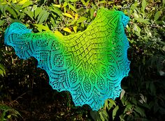 Ravelry: Spring Breeze Lace Shawl pattern by Anna Victoria