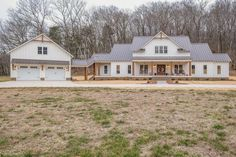 Dream House Exterior, Dream House Plans, My Dream Home, Pole Barn House Plans, Pole Barn Homes, Modern Farmhouse Exterior, Farmhouse Plans, White Farmhouse, Ranch Style Homes