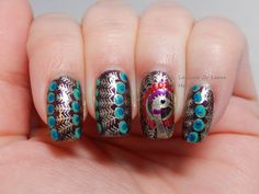 Lacquer or Leave Her!: Review and How-To: MoYou-London Mother Nature/ Landscape collection 02