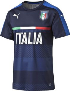 The new Italy Euro 2016 Pre-Match and Training Shirts introduce bespoke designs for the Gli Azzurri.