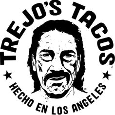 Trejo's Tacos has something for everyone: from traditional Mexican favorites, to classic dishes with a creative twist, to healthy vegetarian and vegan options. Sign Printing, Screen Printing, Trejo's Tacos, Pasadena Restaurants, Mexican Food Recipes, Real Food Recipes, Danny Trejo, Vector Portrait, Los Angeles Area